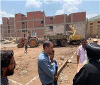 الأنبا بولا يتفقد مشروع مبنى الفلك باكوا الحصة في الغربية
