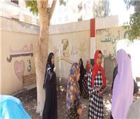 إقبال السيدات على التصويت بلجان انتخابات الشيوخ بسوهاج