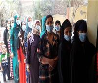 """""""مستقبل وطن"""" بالمنيا: إقبال كبير من الناخبين بمراكز التصويت فى انتخابات الشيوخ"""