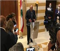 سامح شكري يغادر لبنان بعد زيارة رسمية