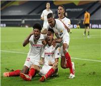 فيديو| إشبيلية يتأهل لنصف نهائي الدوري الأوروبي بهدف قاتل في وولفرهامبتون