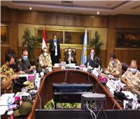 محافظ الغربية يترأس غرفة العمليات المركزية لمتابعة انتخابات مجلس الشيوخ