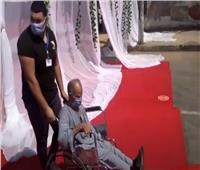فيديو| ناخب من ذوي الإعاقة يدلي بصوته في مدرسة طبري الحجاز
