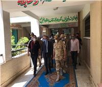 رئيس أركان إدارة التدريب المهني بالقوات المسلحة يتفقد لجان الانتخابات بالغربية