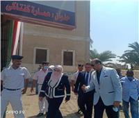 نائب محافظ القاهرة يتفقد لجان الانتخابات بحلوان