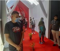 إقبال شبابي على لجان انتخابات الشيوخ بمدرسة قصر الدوبارة