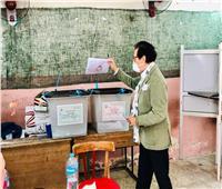 مجلس الشيوخ 2020: فاروق حسني يدلي بصوته في الدقي