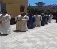 إقبال الناخبين بلجنة مدرسة وابورات المطاعنة الحديثة بإسنا في الأقصر