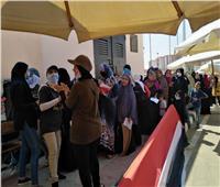 صور| سيدات حي الأسمرات تشارك في اليوم الثاني في انتخابات الشيوخ