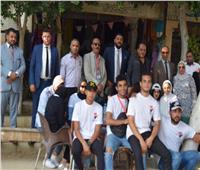 """جولات لشباب """"حماة الوطن"""" لحث المواطنين علي المشاركة بالانتخابات"""