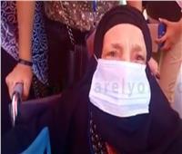 فيديو| مسنة تحث الشباب على التوجه إلى لجان انتخابات الشيوخ