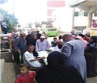 تزايد إقبال الناخبين على اللجان بكفر الشيخ