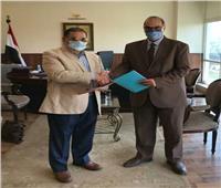 بروتوكول تعاون بين هيئة المستشفيات التعليمية ومديرية الشئون الصحية بالقاهرة