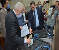 وزير التربية والتعليم يدلي بصوته في انتخابات مجلس الشيوخ