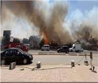 لا شبهة جنائية في حريق حديقة ميدان الرماية