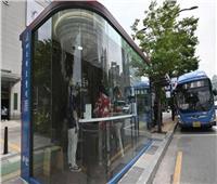 للحماية من كورونا.. موقف «أتوبيسات» ذكي بكوريا الجنوبية