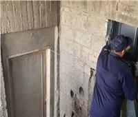 إنقاذ طفلين ووالدهما داخل مصعد تعطل بهما في الشرقية