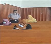 صور| عميد الدراسات العليا بجامعة الأزهر يتفقد لجان الامتحانات بطنطا والمنصورة