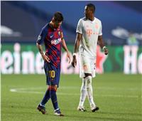 فيديو| برشلونة يعاني بعد رباعية بايرن خلال الشوط الأول