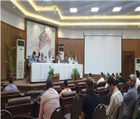 رئيس جهاز 6 أكتوبر يتابع الموقف التنفيذي لمشروعات الطرق بالمدينة