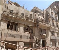 تشكيل لجنة هندسية لفحص المباني المجاورة لعقار قصر النيل المنهار