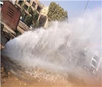 رئيس «مياه الشرب» بالغربية: انفجار ماسورة صرف بطنطا سبب انقطاع المياه