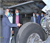 وزير الطيران يقوم بزيارة مفاجئة لقرية البضائع وشركات الشحن الجوي