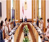 الرئيس السيسي يبحث مع عدد من المسئولين مشروعات تنمية سيناء والعاصمة الإدارية