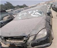 تفاصيل جلسة مزاد لبيع السيارات المخزنة بساحة جمارك مطار القاهرة