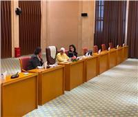 وزيرة الصحة تبدأ جلسة ثنائية مع نظيرتها السودانية في الخرطوم
