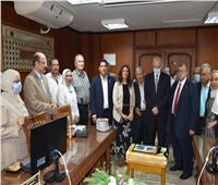 تكريم حمدى عمارة نائب رئيس جامعة السادات لخدمة المجتمع