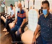 حسام البدري يحضر مباراة الزمالك ومصر للمقاصة