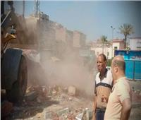 حملة لإزالة الإشغالات العشوائية بعين شمس.. وتطوير محور ربط شارع 6 أكتوبر