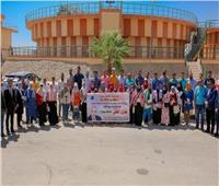 """محافظة سوهاج: انطلاق فعاليات مبادرة """"من حقك تعرف"""" لتعريف الشباب بالمشروعات القومية"""