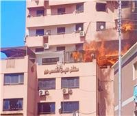 الحماية المدنية تنقذ سكان برج من الموت بنجع حمادي