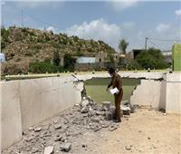 التلفزيون السعودي: سقوط مقذوف أطلقه الحوثيون على قرية حدودية بجازان