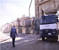 """محافظ أسيوط يتفقد مصنع السماد العضوي بقرية """"اسكندرية التحرير"""""""