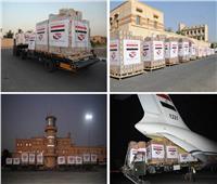 مصر تواصل تكثيف الجسر الجوي لإرسال المساعدات العاجلة للجمهورية اللبنانية