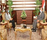 وزير التنمية المحلية يتابع مع محافظ دمياط المشروعات الجارية بالمحافظة