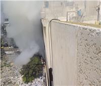 صور| السيطرة على حريق بشقة سكنية في الإسكندرية