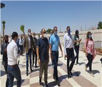 """""""العناني"""" وأمين """"السياحة العالمية"""" يتفقدان الإجراءات الوقائية بمتحف الغردقة"""