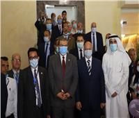 وزير القوى العاملة ومحافظ القاهرة يفتتحان فندق نقابة العاملين بالغزل والنسيج