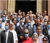 قيادات الوفد يزورون أضرحة زعماء الوفد لإحياء ذكرى رحيلهم