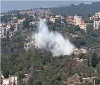 فيديو  سماع دوي انفجار ضخم في جبل لبنان جنوب بيروت