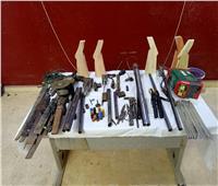 ضبط ورشة لتصنيع السلاح بفرشوط