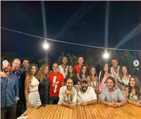بالصور.. نجوم الفن في حفل عشاء بالساحل الشمالي