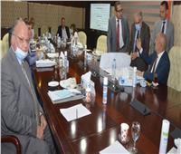 """وزير الإسكان يستعرض مشروع مخطط تنمية البوابة الاقتصادية الشمالية الشرقية لمصر """"باب مصر"""""""