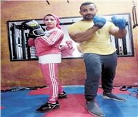 حكايات  «صباح» أول مدربة ملاكمة وحكم كونغ فو بالصعيد
