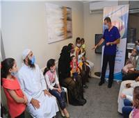 مبادرة لمسة خير لإنقاذ مصابي الأمراض الجلدية المزمنة والخطيرة من غير القادرين