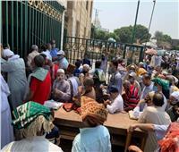 صور وفيديو| المصلون في مسجد السيدة نفيسة: سعداء بعودة صلاة الجمعة في المساجد